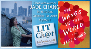 Jade Chang in #LitChat