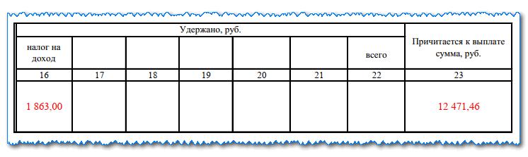 Изображение - Как заполняется записка-расчёт о предоставлении отпуска t60-8
