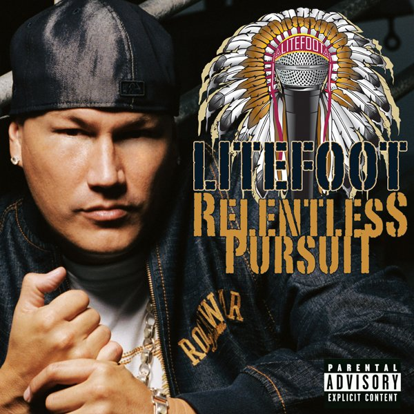 """Download Litefoot's """"Relentless Pursuit"""" Album – Right here for just $9.99"""