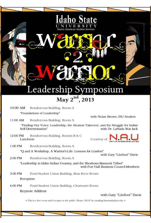 litefoot warrior to warrior Leadership Symposium