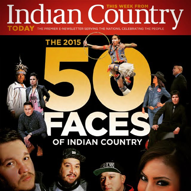 "Gary ""Litefoot"" Davis selected as one of the 2015 ""50 Faces of Indian Country"""