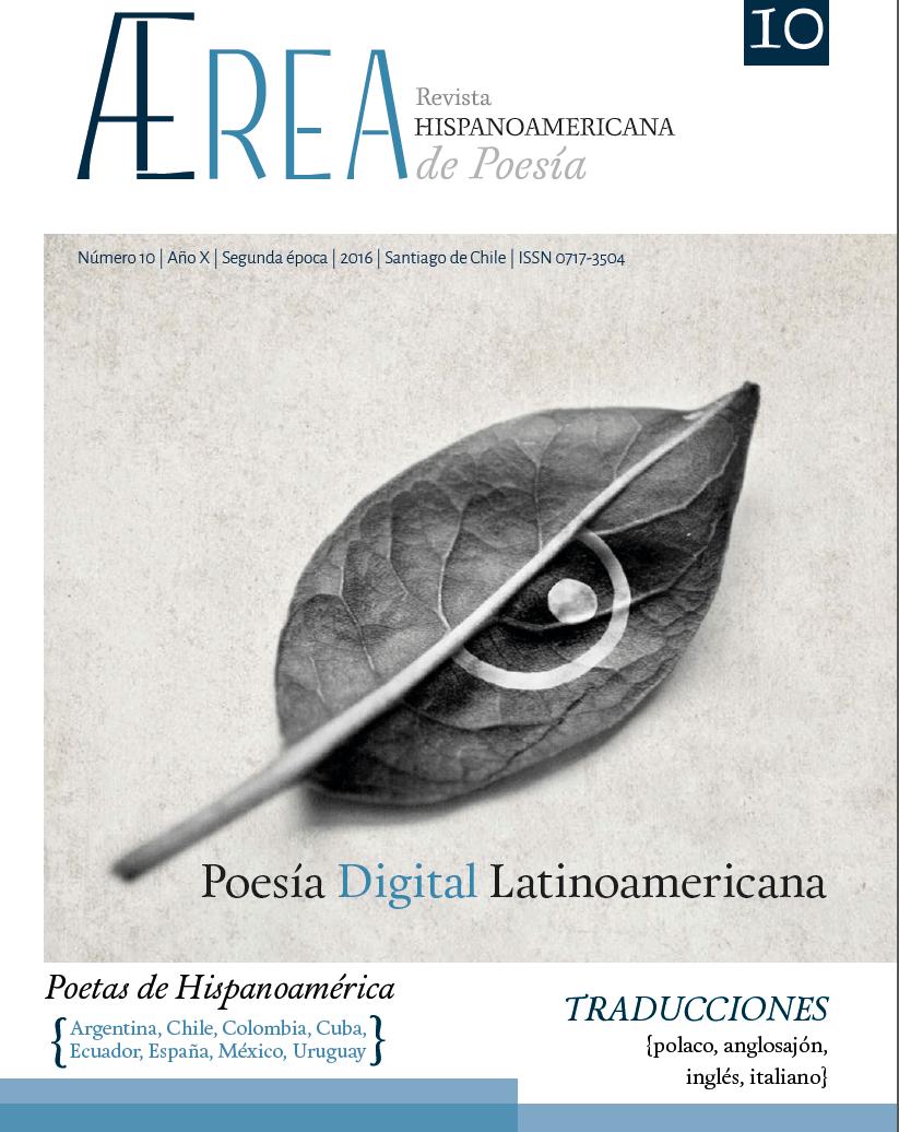 Dossier de Poesía Digital Latinoamericana en revista AErea