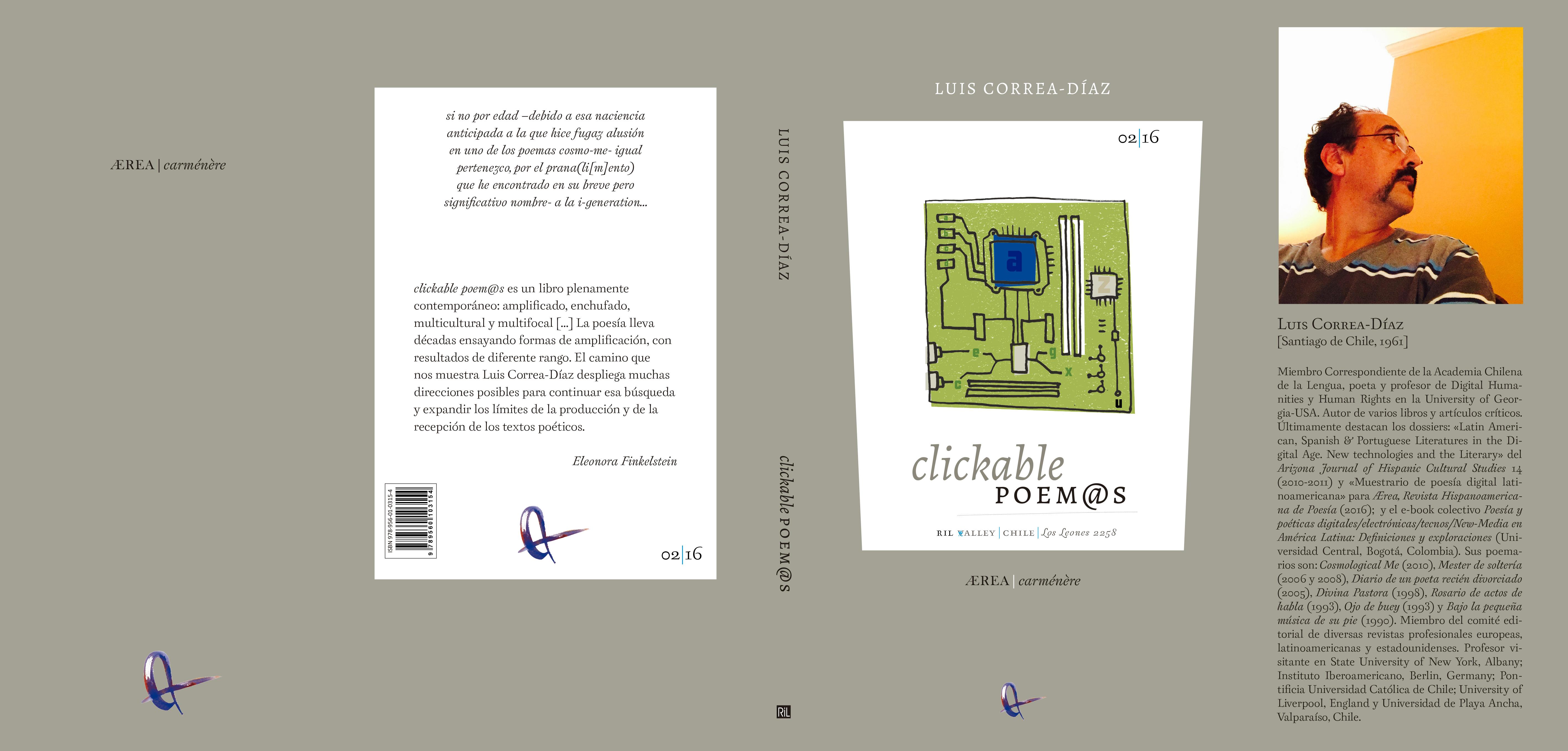 clickable poem@s (Santiago de Chile: RIL Editores, 2016)  de luis correa-díaz