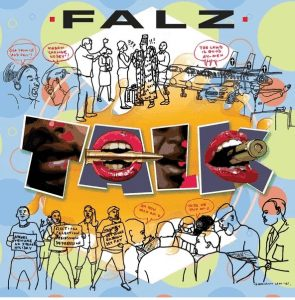 Photo of Falz song titled talk