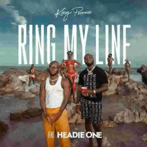 Image of King Promise Ring My Line Ft Headie One