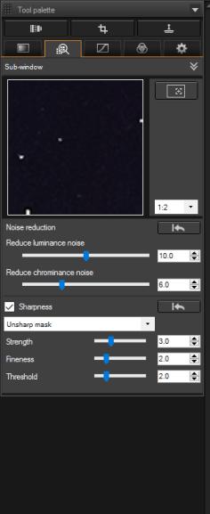 Adjust Image Detail