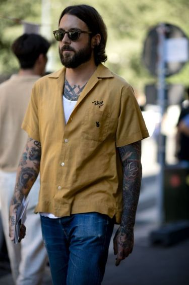 30代メンズにスマート半袖シャツコーデが絶対にイカす!