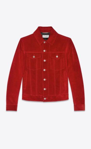 ソングスでキムタクが着ていた赤のジージャン