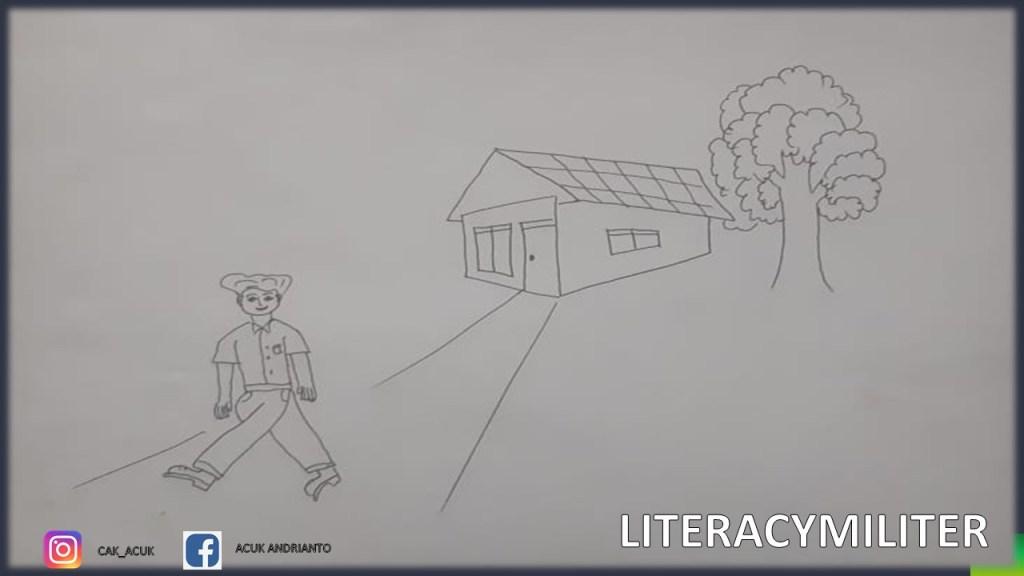 Cara Menggambar Rumah Pohon Dan Orang Dalam Psikotes Tni Polri