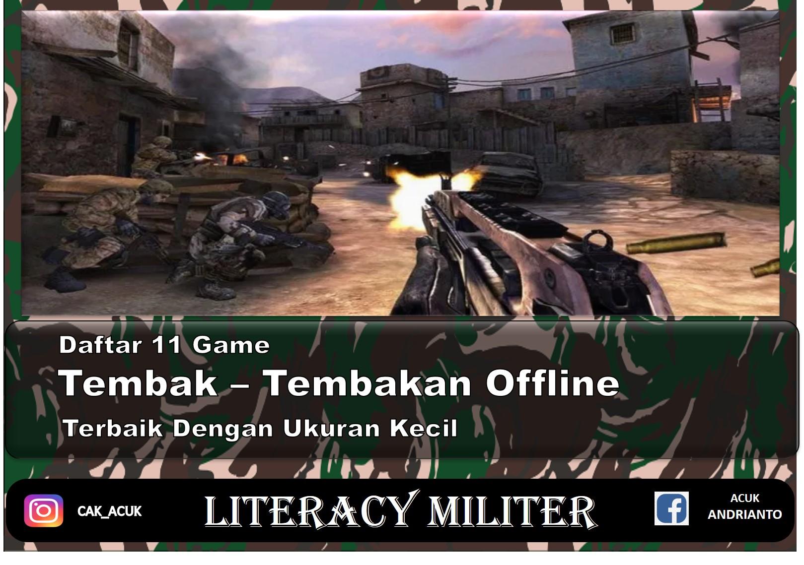 Game Tembak Tembakan Offline