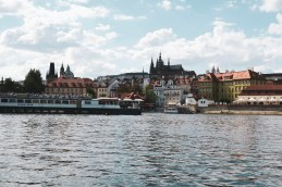Prague via the Vltava