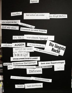 Das spontane Gedicht #1 - entstanden am 16. 02. 2015 in Ulm ...