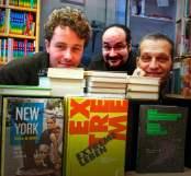 LiteraLotto-Team: Rasmus Schoell, Florian L. Arnold und Samy Wiltschek (v. l. n. r.).