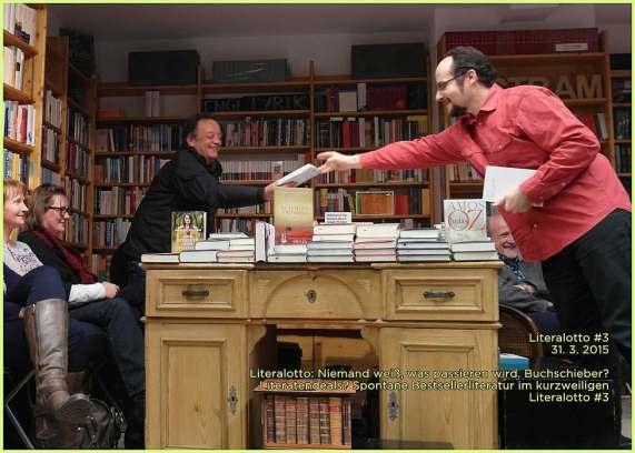 """""""Welches Bücherl hättens denn gern?"""""""