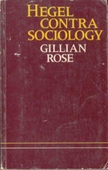 hegel-contra-sociology