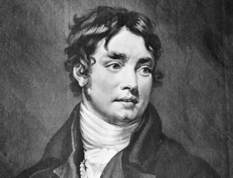 Samuel Taylor Coleridge in 1802, the year his daughter, Sara, was born.