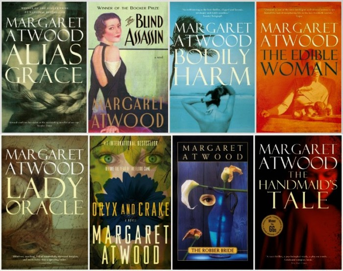 Margaret Atwood AllBooks
