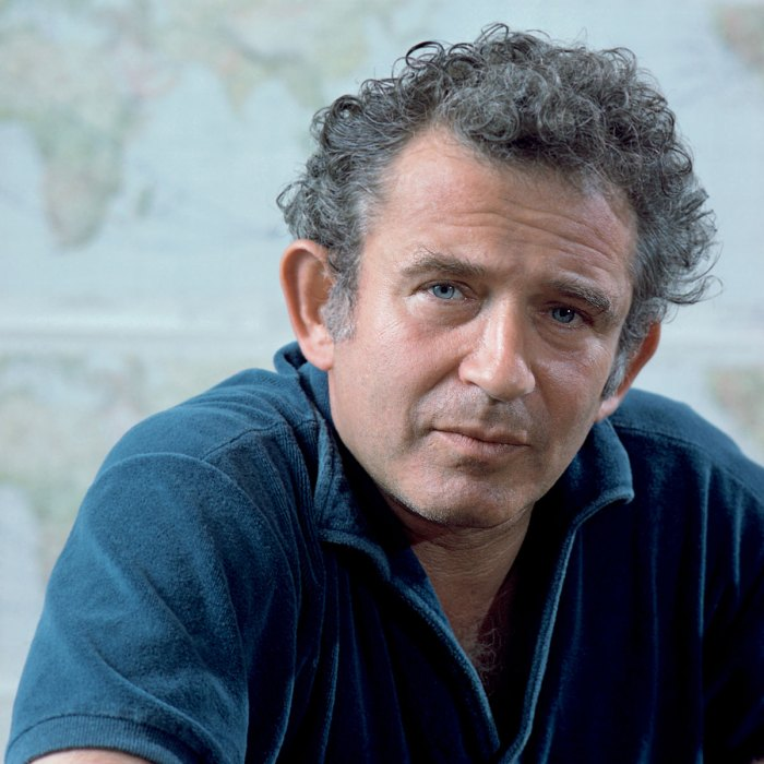 Portrait Of Norman Mailer