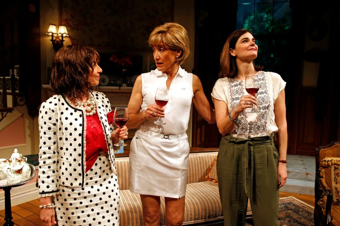 Eleanor Reissa, Amy Aquino and Betsy Brandt in South Coast Reper
