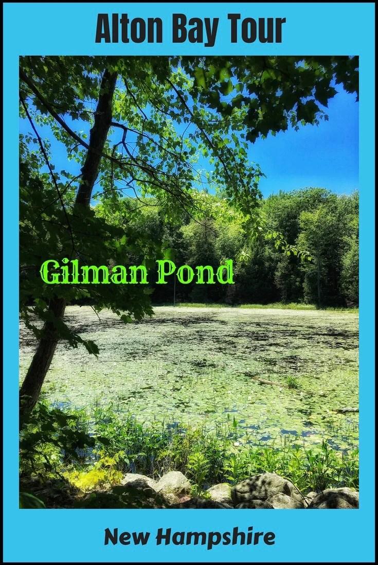 Gilman Pond, Alton, Lake Winnipesaukee