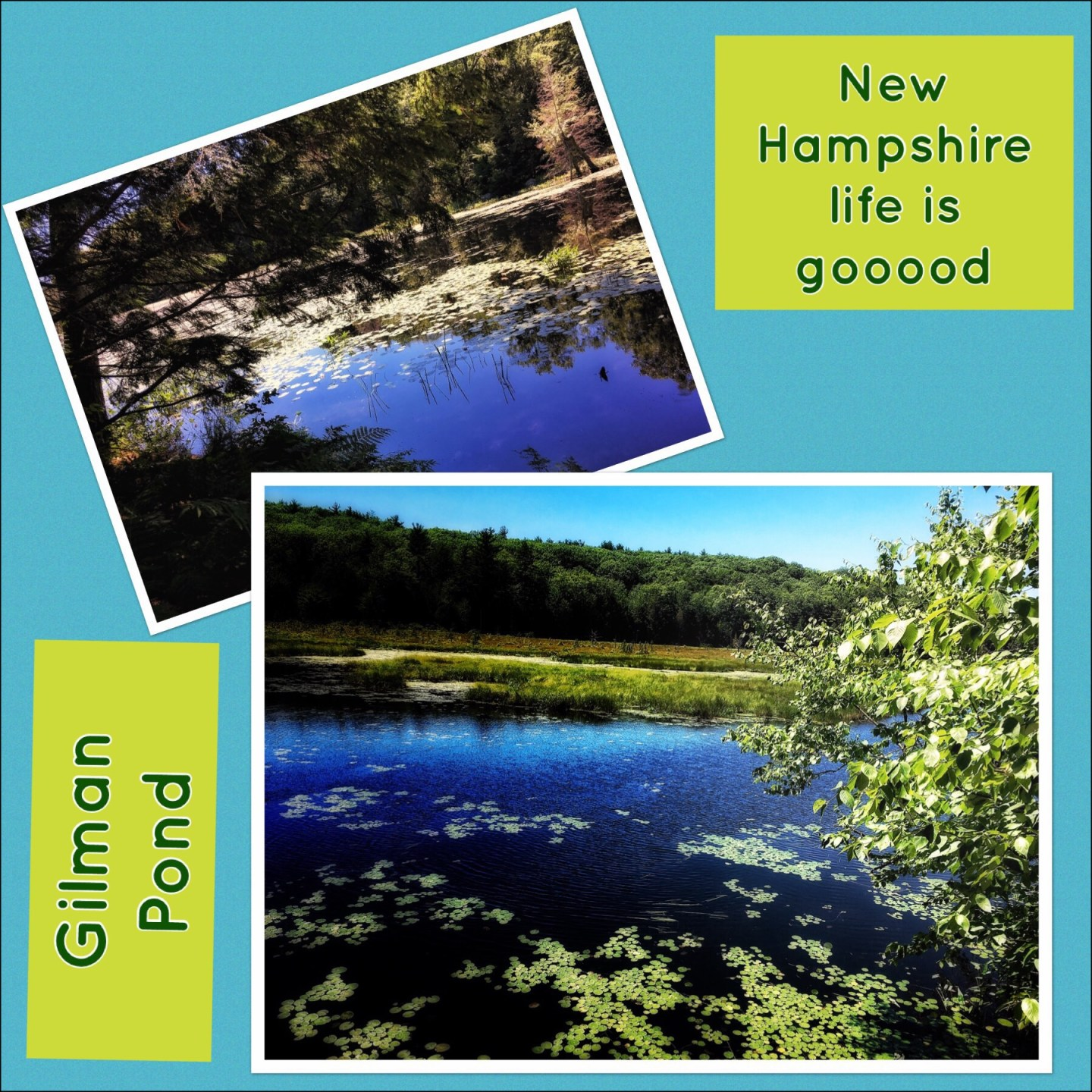Gilman Pond, Alton, Lake Winnipesaukee tour
