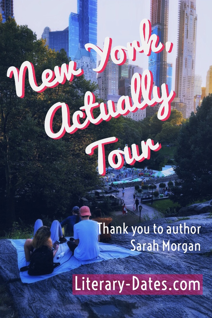 My tour of NYC inspired by book New York, Actually by Sarah Morgan