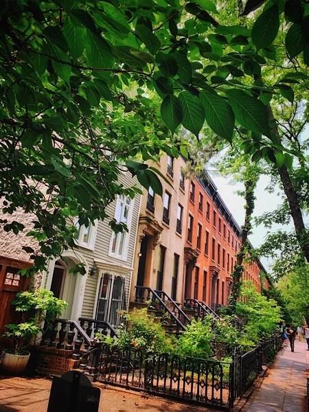Brownstones in Boerum Hill, Brooklyn