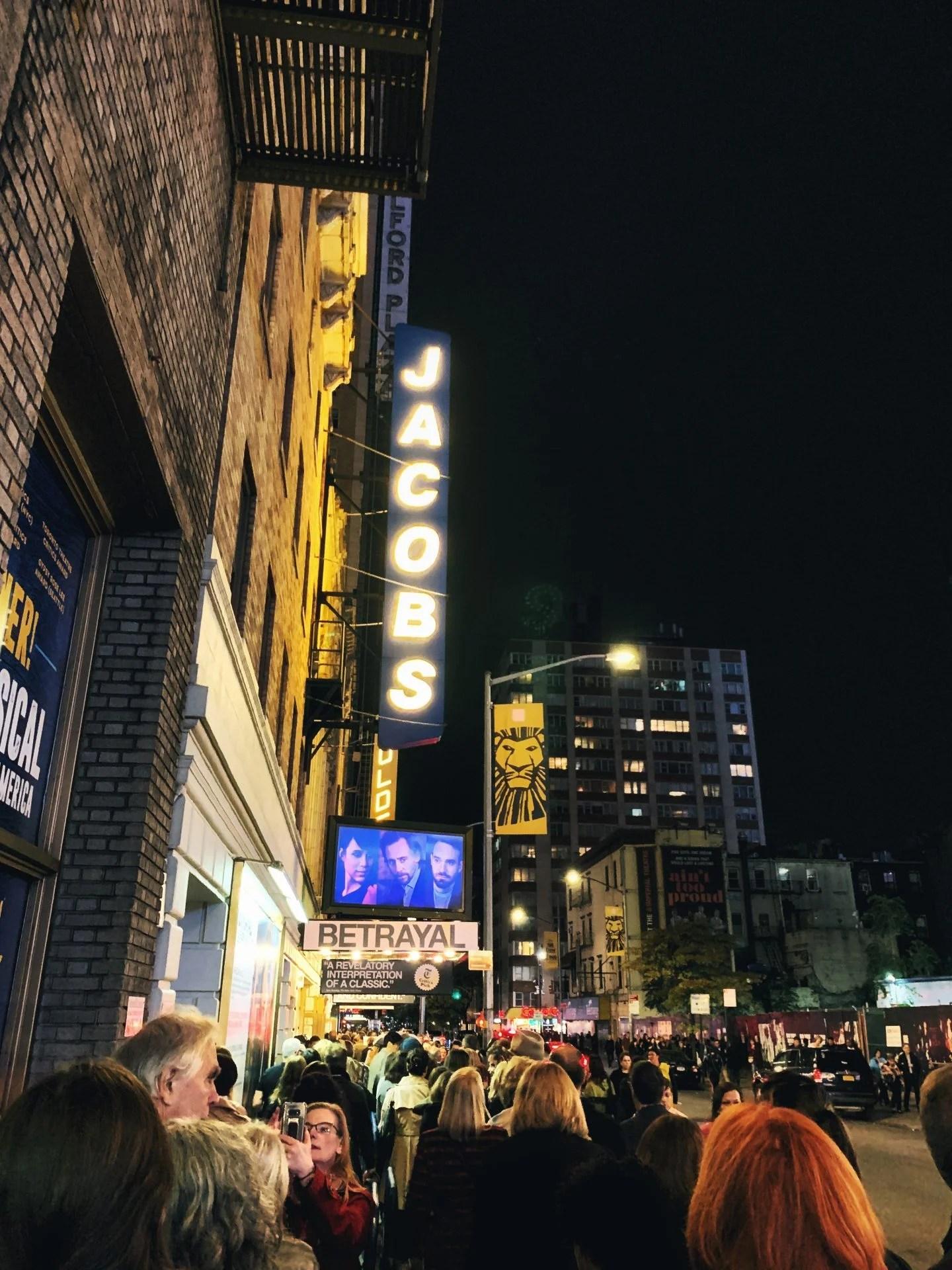 Broadway show Betrayal