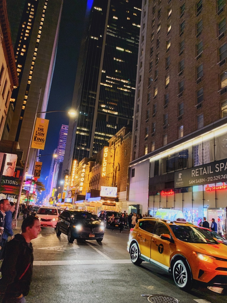 Times Square, Broadway Theatres, inspired by the book Roomies by Christina Lauren