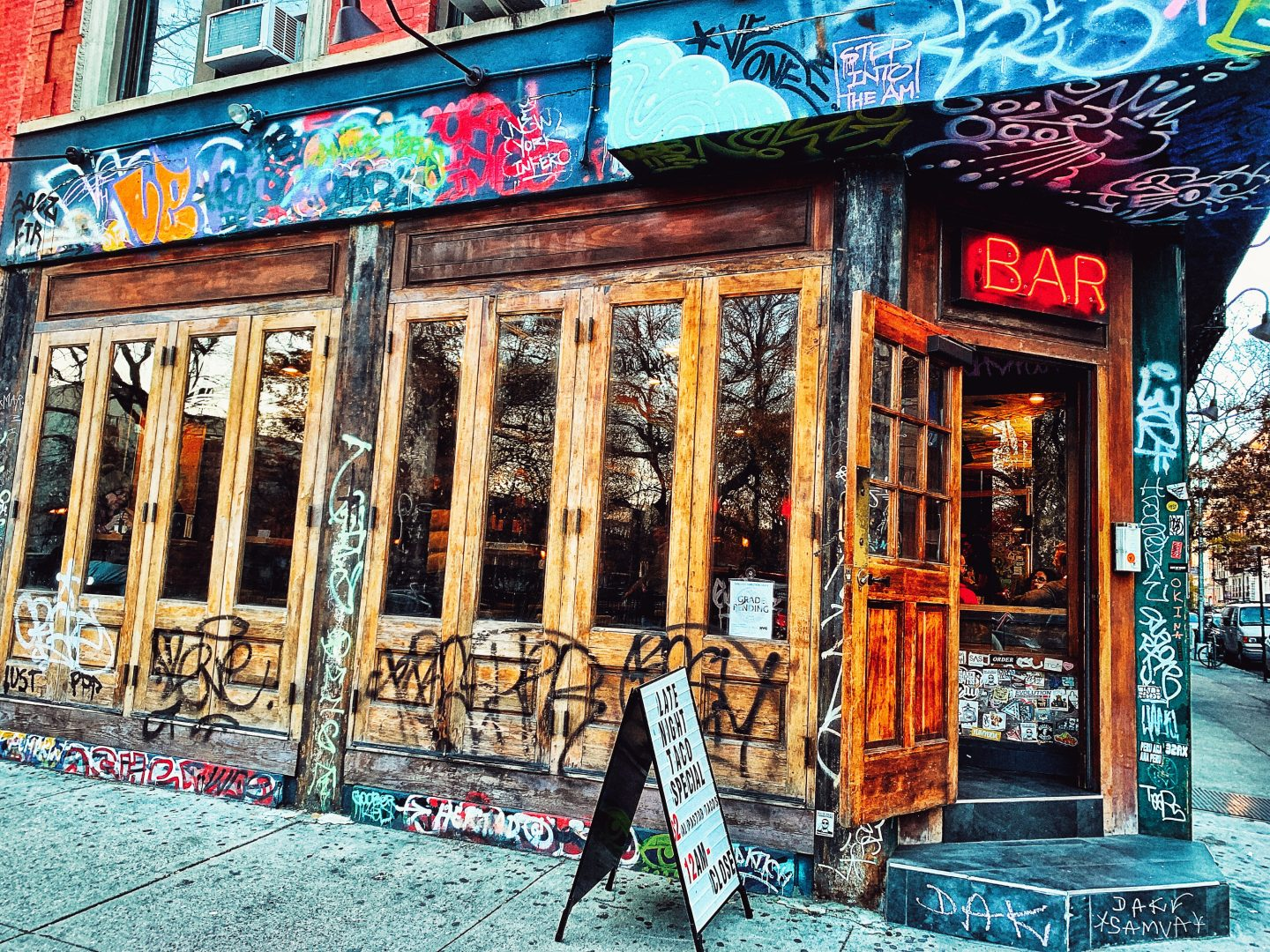 Bar in the East Village