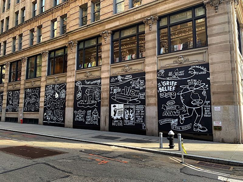 Covid-19 pandemic street art