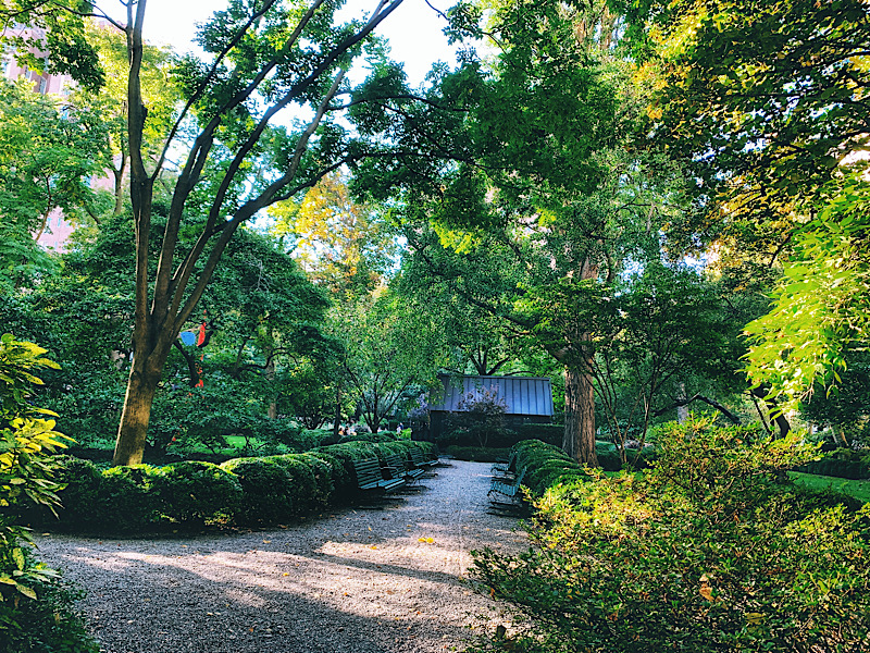 Gramercy Park, seen during my In Five Years Literary Date