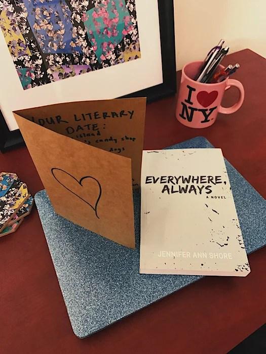 Everywhere, Always by Jennifer Ann Shore, book cover