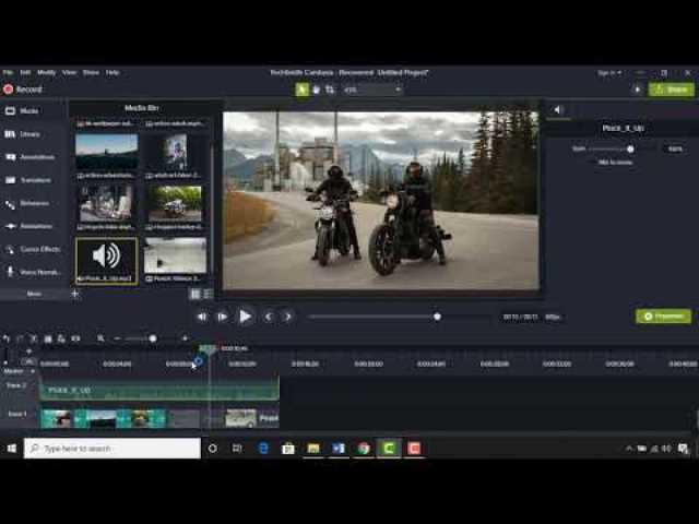 Video Editing Tutorial for Beginners | YouTube Video Making | Camtasia Studio 9 |