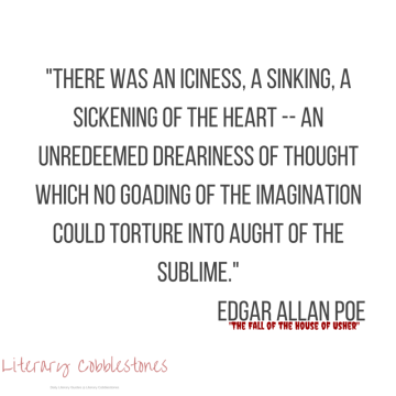 """October 5: Edgar Allan Poe's """"The Fall of the House of Usher"""" 
