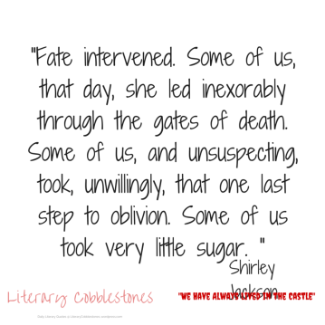 """October 30: Shirley Jackson's """"We Have Always Lived in the Castle"""" 