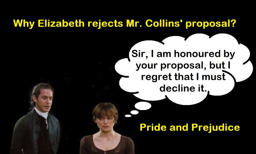 Why Elizabeth Rejects Mr. Collins