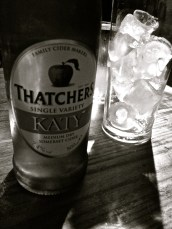 My very own cider, like being at home, right?