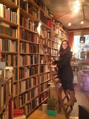 Basically, heaven. But really a tiny used bookshop in Brussels.