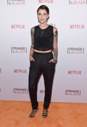 """Ruby Rose (Stella Carlin) told BuzzFeed """"I would hide a puppy because I can't live without animals. That wasn't an analogy for anything — that was like an actual puppy, like a dog."""""""