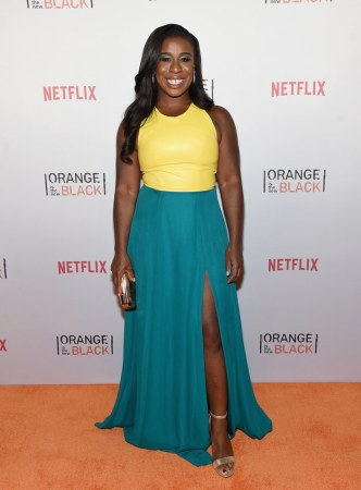 """Uzo Aduba (Suzanne """"Crazy Eyes"""" Warren) would bring pie (the """"obligatory answer""""). She later asked BuzzFeed: """"How much time do you have? I'm gonna lean on the can of Pringles. Love 'em."""""""