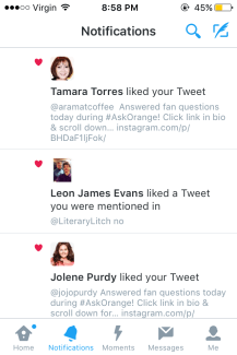 Tamara Torres (Weeping Woman) and Jolene Purdy (Hapakuka)