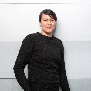 Photo of poet Natalie Diaz.
