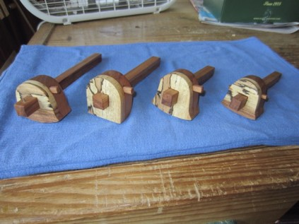 Cherry Pecan Marking Gauge Batch June 2012 - - 2