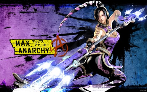 Fei Rin from Anarchy Reigns Videogame; another one from Escher Girls.