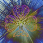 celticshamrock rainbow glass