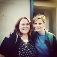 Meeting the fabulous Louise Brealey after the final performance of Constellations at Trafalgar Studios, August 2015. #theatre #London #constellations ©studyreadwrite