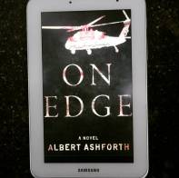 #fallintoreads Day 11: Military Romance on Veteran's / Remembrance Day. On Edge by Albert Ashford #bookstagram #military #fiction ©theliteratigirl