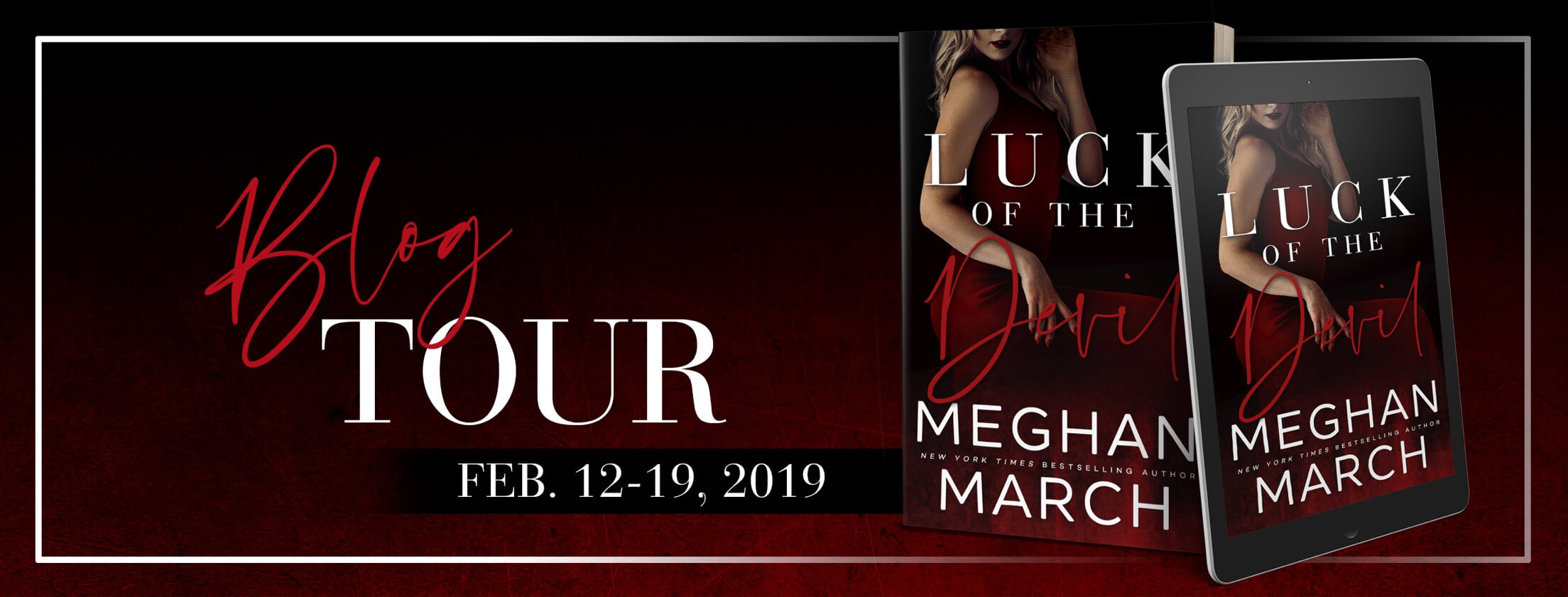 Release Week Blitz * Luck of the Devil (Forge Trilogy book 2) by Meghan March * Blog Tour * $25 Amazon GC Giveaway * Book Review