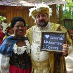 Lover Amanda with King Henry VIII at the Renaissance Festival September 30th